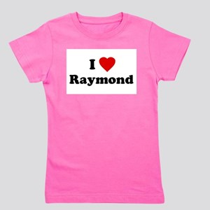 I Love [Heart] Raymond Ash Grey T-Shirt